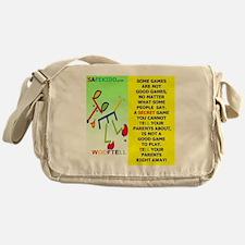 Not always a good game-WOOFTELL Messenger Bag