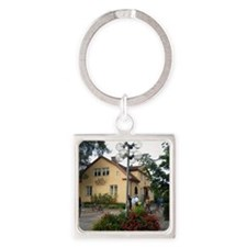 JB-Museum-front-sq Square Keychain