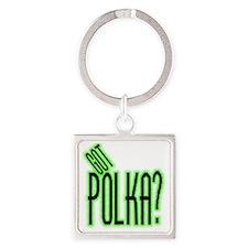 got polka? Square Keychain