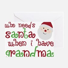 grandmasanta Greeting Card