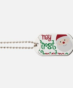 firstchristmas Dog Tags