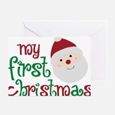 firstchristmas Greeting Card
