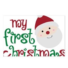 firstchristmas Postcards (Package of 8)