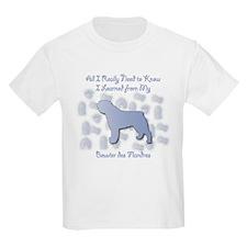Learned Bouvier Kids T-Shirt