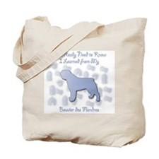Learned Bouvier Tote Bag