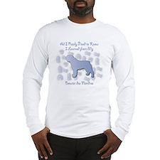 Learned Bouvier Long Sleeve T-Shirt