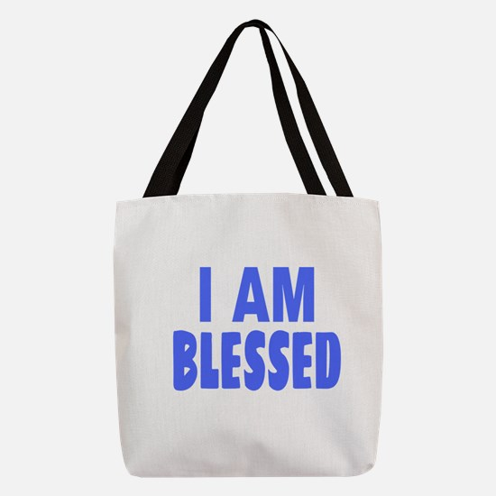 I Am Blessed Polyester Tote Bag