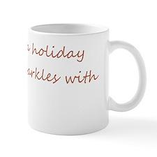 Holiday Greeting card Small Mug