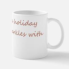 Holiday Greeting card Small Small Mug