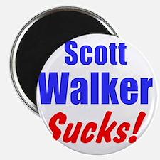 Scott Walker Sucks Magnet