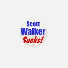Scott Walker Sucks Mini Button
