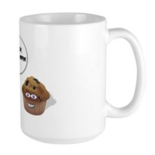 a talking muffin Mug