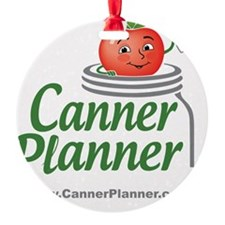 cannerplanner_8in Ornament