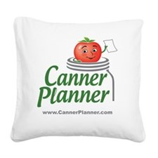 cannerplanner_8in Square Canvas Pillow