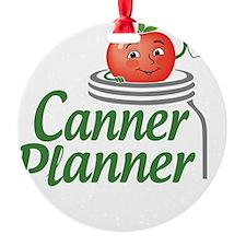 cannerplanner_8in_dark Ornament