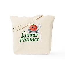 cannerplanner_8in_dark Tote Bag