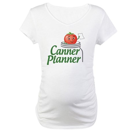 cannerplanner_8in_dark Maternity T-Shirt
