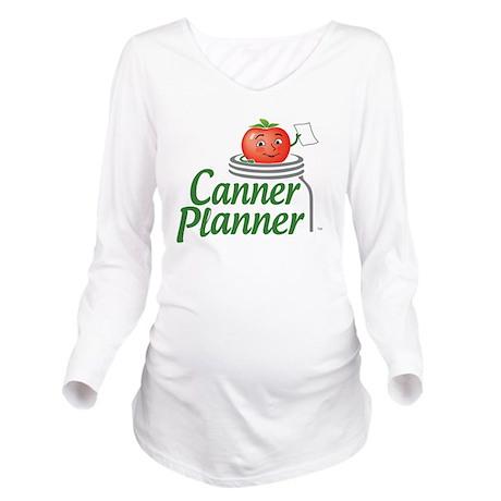 cannerplanner_5in_da Long Sleeve Maternity T-Shirt