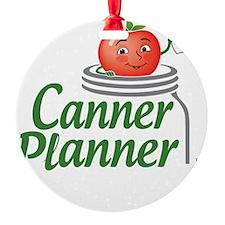 cannerplanner_5in_dark Ornament