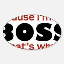 Boss1 Decal