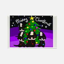 Merry Christmas NUNS Rectangle Magnet