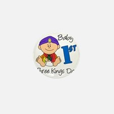 babys first three kings day Mini Button