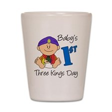 babys first three kings day Shot Glass