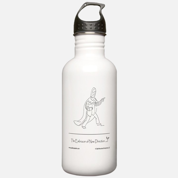 The Embracer of New Di Water Bottle