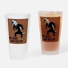 honey-badger4-java-BUT Drinking Glass