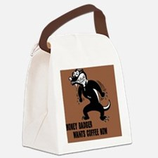 honey-badger4-java-BUT Canvas Lunch Bag