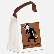 honey-badger4-java-TIL Canvas Lunch Bag