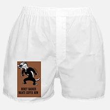 honey-badger4-java-CRD Boxer Shorts