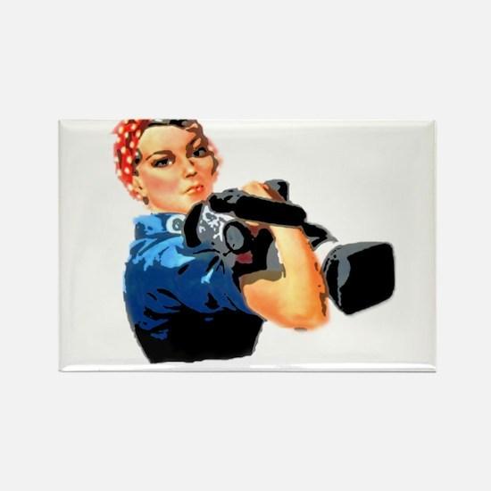 Rosie the Filmmaker Magnets