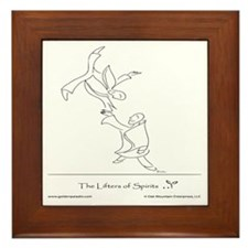 The Lifters of Spirits Framed Tile