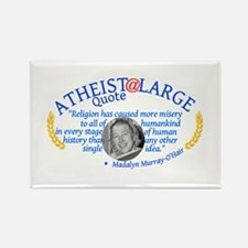 MadalynReligionMisery Rectangle Magnet