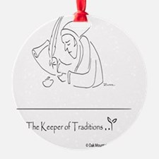The Keeper of Traditions Ornament