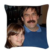 121 Woven Throw Pillow