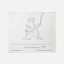 The Pathfinder Throw Blanket