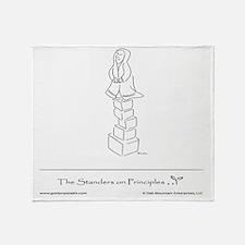 The Standers on Principles Throw Blanket