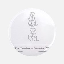 "The Standers on Principles 3.5"" Button"