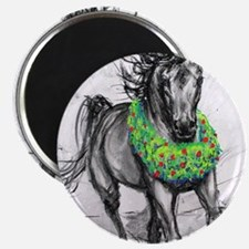 Dashing Through The Snow Holiday Gifts andG Magnet