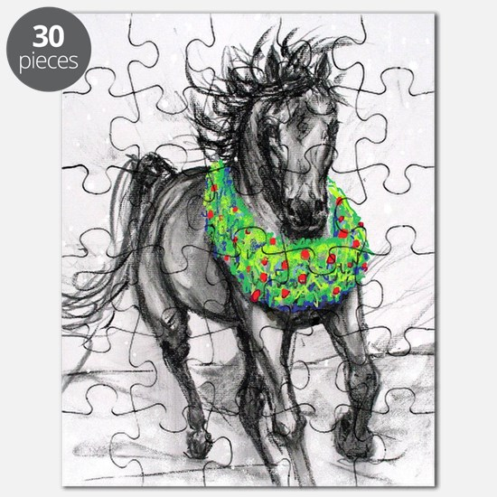 Dashing Through The Snow Holiday Gifts andG Puzzle