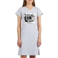 stm-shadow-with-name Women's Nightshirt