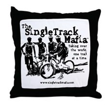 stm-shadow-with-name Throw Pillow