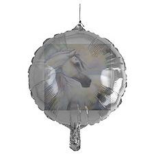 Heavenly Horse art by Janet Ferraro. Balloon