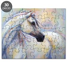 Heavenly Horse art by Janet Ferraro. Copyri Puzzle
