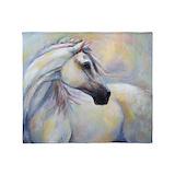 Horse Fleece Blankets