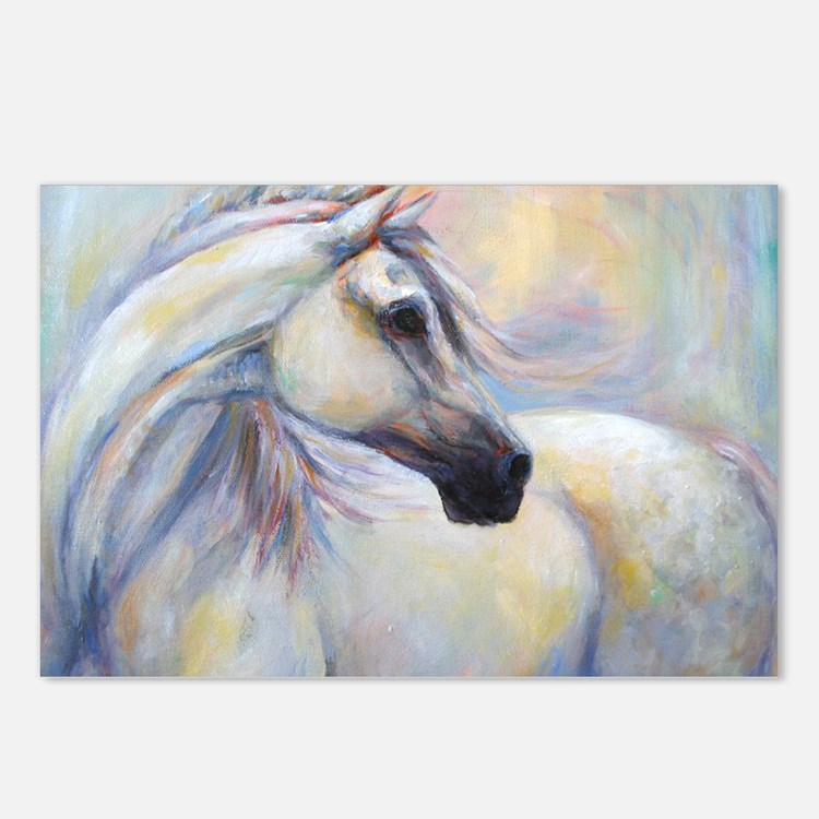 Heavenly Horse art by Jan Postcards (Package of 8)