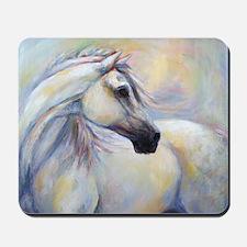 Heavenly Horse art by Janet Ferraro. Cop Mousepad
