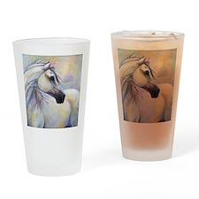 Heavenly Horse art by Janet Ferraro Drinking Glass